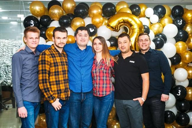 Three years of WizardsDev: photo report from the party