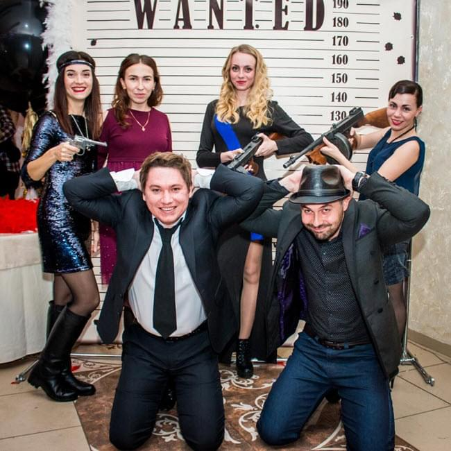 New Year's corporate party at WizardsDev!
